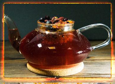 Чай на травах - традиция праздника Овсень