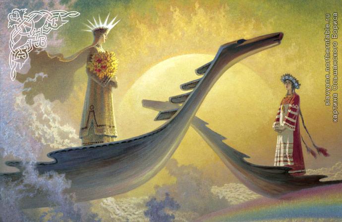 Жива, Богиня Жива, Жива и Леля,