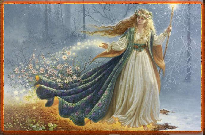 Дивия, Богиня Дивия, Дивия славянская Богиня