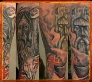 славянские тату, тату на запястье, тату браслет, обережное тату, татуировка славянская