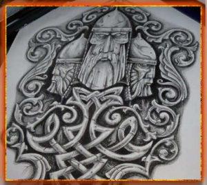 славянские тату, эскиз татуировка обережная, тату славянское