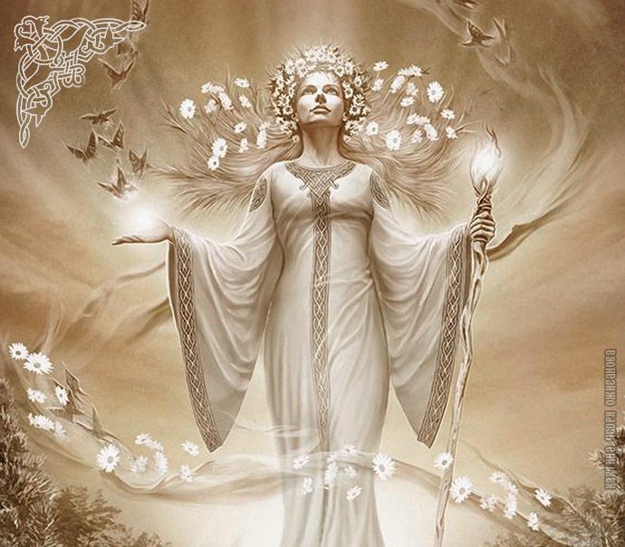 Жива, Богиня Жива, славянская богиня Жива