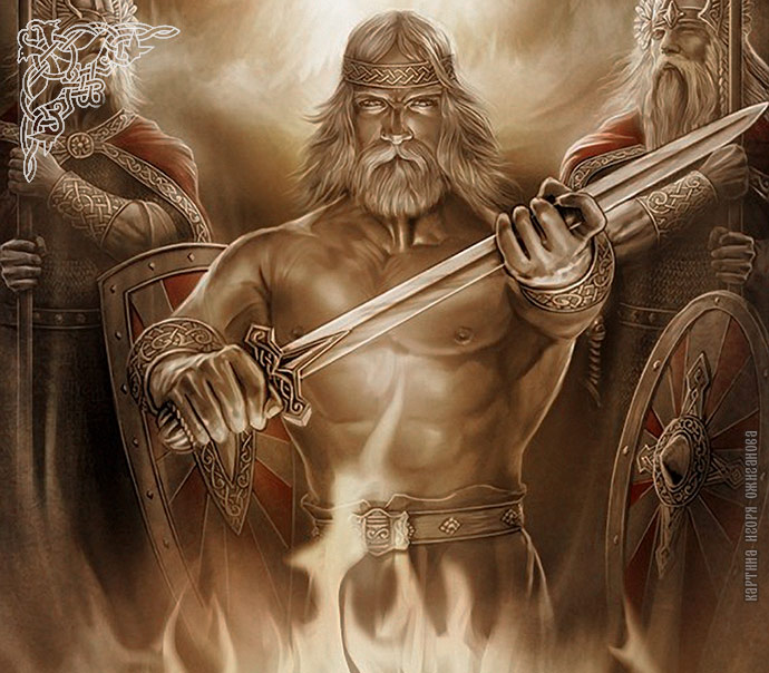 Семаргл, Бог Семаргл, славянский бог семарг
