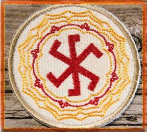 знак Перуна, символ Перуна, Бог Перун, оберег Перун