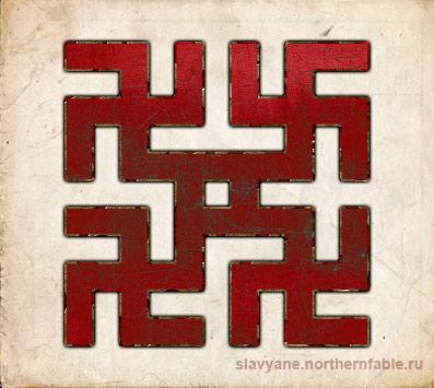 коники, знак коники, символ коники, оберег коники, Славянский символ коники