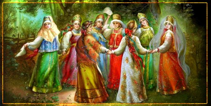 русальная неделя, русалии, зеленые святки