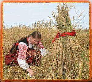 зажинки, праздники урожая у славян