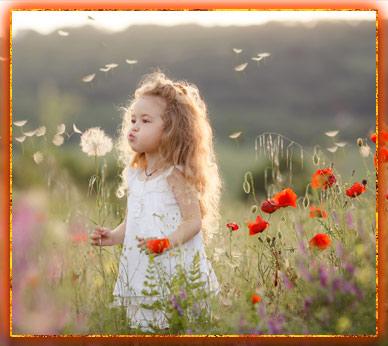 девочка, род и рожаницы