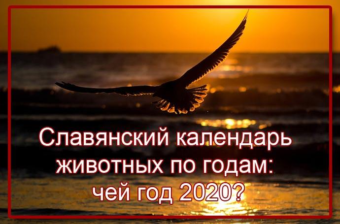 Славянский тотемный календарь животных