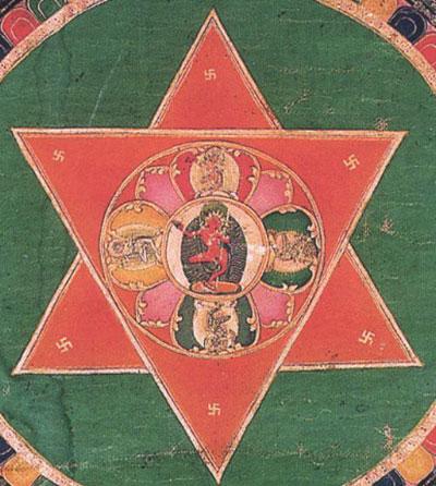 шестиконечная звезда, знак шестиконечная звезда, символ шестиконечная звезда, значение шестиконечная звезда