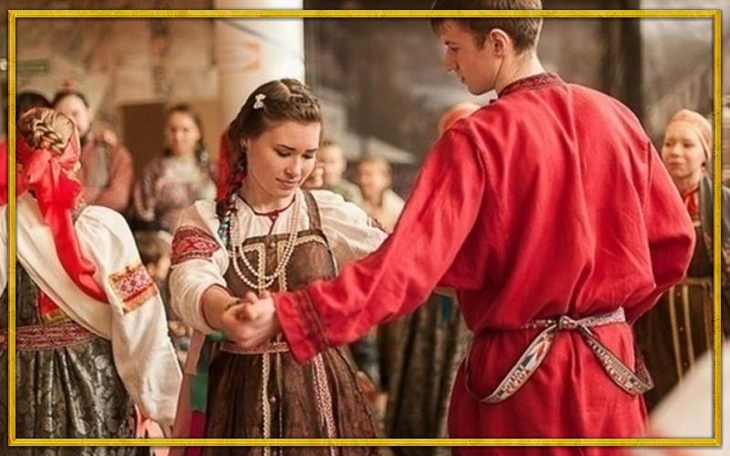 русская народная вечерка, традиционная вечерка, русская вечерка, славянские вечерки