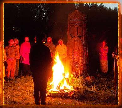 праздник, костер, славяне, осенние деды, календарь славянских праздников
