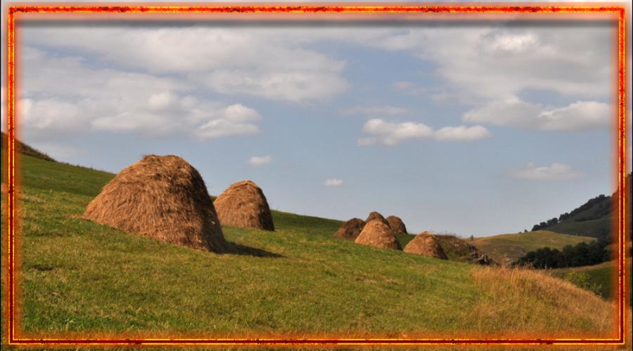 Сноп, сбор уожая, славянские праздники урожая, спожинки, дожинки