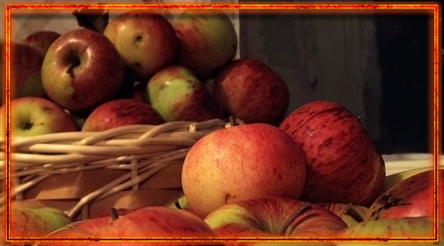 дожинки, яблочный спас, сбор урожая у славян