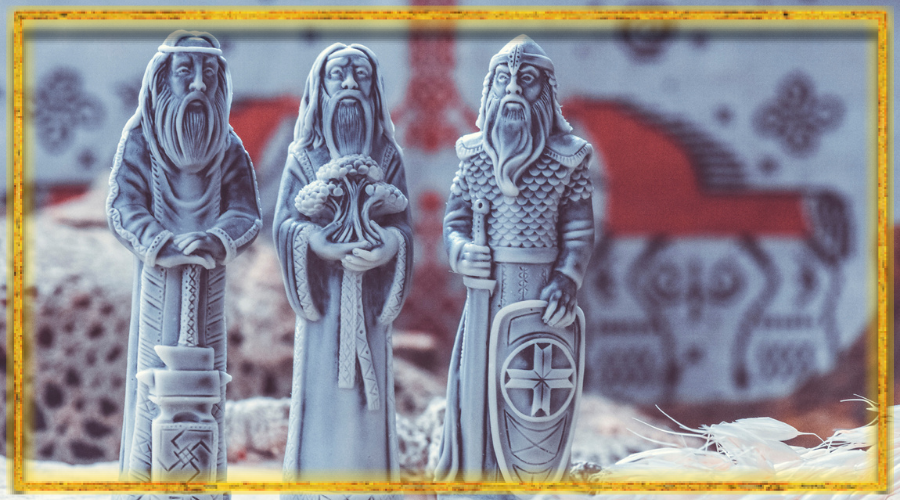 сварог, перун, род, кумиры родных богов